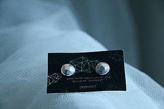 Náušnice - Silver nude - 5516302_