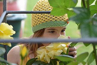 Detské čiapky - Pampeliška - 5515825_