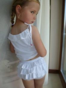 Bielizeň/Plavky - Detské nohavičky s volánikom - 5516138_