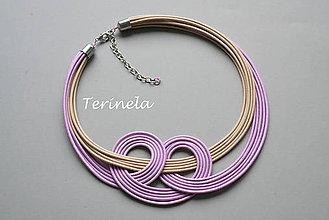 Náhrdelníky - Náhrdelník Okvětní lístky © design Terinela - 5513802_