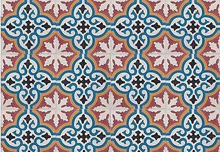 Dekorácie - Dlažba,obklad AICHA 611 - 20 x 20 x 1,6 cm - 1 ks - 5513563_