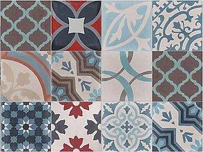Dekorácie - Dlažba,obklad PATCHWORK 100 - 20 x 20 x 1,6 cm - 1 ks - 5513710_