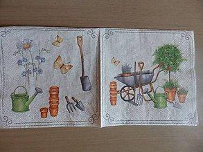 Papier - záhradka - 5515381_