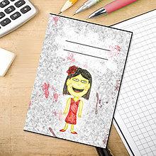 Papiernictvo - Minizápisník pre deti a pre - 5514005_