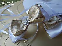 Nádoby - mašle na svadobné poháre - 5519052_