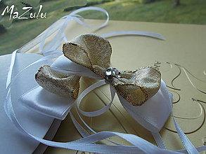 Nádoby - mašle na svadobné poháre - 5519051_