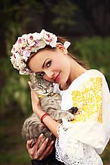 - Svadobná kvetinová parta - 5517232_
