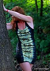 Šaty - Šaty tielkové batikované a maľované SALAMANDRIČKY - 5516746_