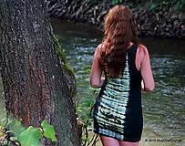 Šaty - Šaty tielkové batikované a maľované SALAMANDRIČKY - 5516767_
