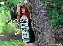 Šaty - Šaty tielkové batikované a maľované SALAMANDRIČKY - 5516782_