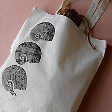 Nákupné tašky - ULITKY - taška nákupní - 5518434_