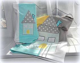 Textil - Obliečky do detskej postieľky z kolekcie MINT - 5522442_