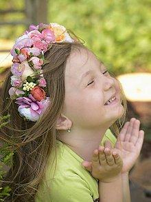 Ozdoby do vlasov - parta by michelle flowers - 5520517_