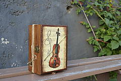 Krabičky - husľová romanca - 5521984_