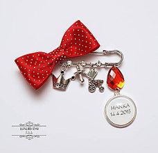 Detské doplnky - brošnička Little RED - person - 5520647_