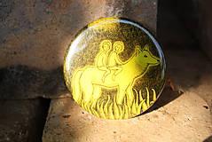 Zrkadielka - Zrcátko s vlčicí - 5520406_