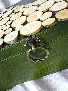 Krabičky - truhlica z lesa :) - 5521608_