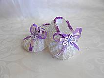 Detské topánky - jemnosť fialovej... - 5520028_