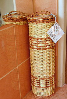 Košíky - Zásobník na toaletný papier - 5521164_