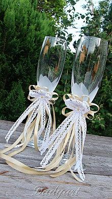 Dekorácie - Oblečko pre poháre - 5524951_