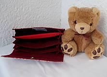 Peňaženky - vejárovitá peňaženka - 5522946_