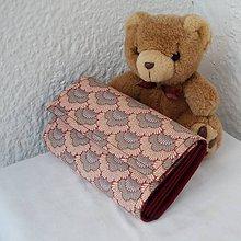 Peňaženky - vejárovitá peňaženka - 5522944_