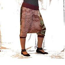 Nohavice - TURKY sukně Žena v listí 3/4 - 5522721_