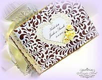 "Papiernictvo - Svadobná kolekcia ""Marsala Love"" - 5524088_"