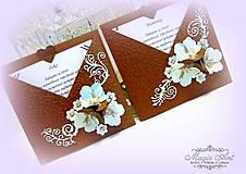 Papiernictvo - Čokoladovo nebeské objatie... - 5524727_