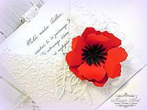 Papiernictvo - Lace Poppy - 5524760_