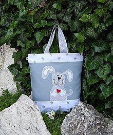 Nákupné tašky - Ekotaška - biely psík - 5524921_