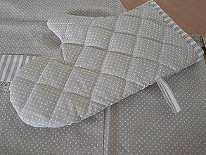 Úžitkový textil - chňapka -  béžová - 5527748_