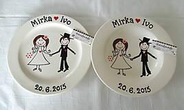 - Svadobné taniere - 5525601_