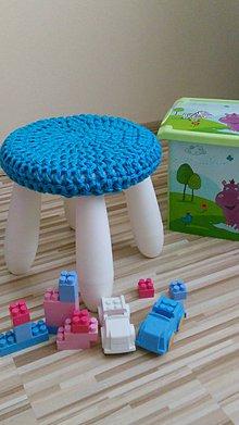 Úžitkový textil - Podsedák , návlek na stoličku - 5526286_