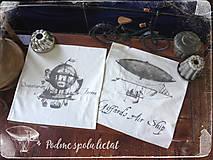 Úžitkový textil - Vankúš…podme spolu lietat - 5529012_