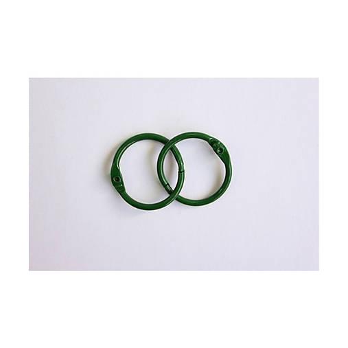 Otváracie krúžky 2ks 25mm Zelené