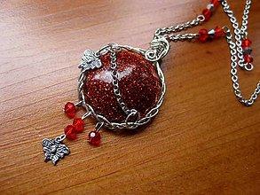 Náhrdelníky - Horúci deň a motýle - náhrdelník č.1443 - 5528905_