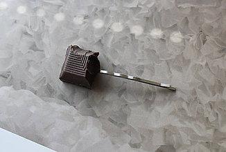 Ozdoby do vlasov - čoko-sponka IV - 5529085_