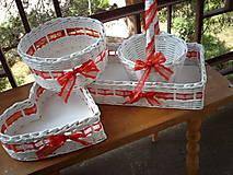 Košíky - Svadba - čipkovaná vášeň - 5528863_