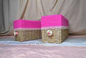 Košíky - Rozkvitnuté boxy/ks - 5529704_