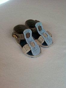 Topánočky - Sandálky pre frajera - 5528236_