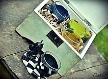 Nádoby - Šálky v krabici - sada 4 ks - 5533670_
