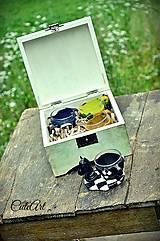 Nádoby - Šálky v krabici - sada 4 ks - 5533671_