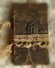 Papiernictvo - Paris diary mini kabelkový špeciál - 5533757_