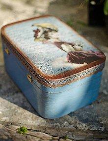 Krabičky - Drevená šperkovnica - 5534290_