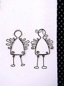 Dekorácie - s hompáľajúcimi nôžkami :) - 5531401_