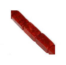 Minerály - Sponge coral - kvádrik, 7x14 mm - 5536831_