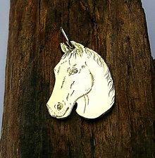 Náhrdelníky - hlava koňa - 5536071_