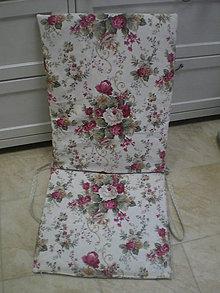 Úžitkový textil - Obal na sedák na záhradné lehátko - 5535160_