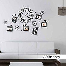 Dekorácie - (3682n) Nálepka na stenu - Najkrajšie spomienky... - 5539404_